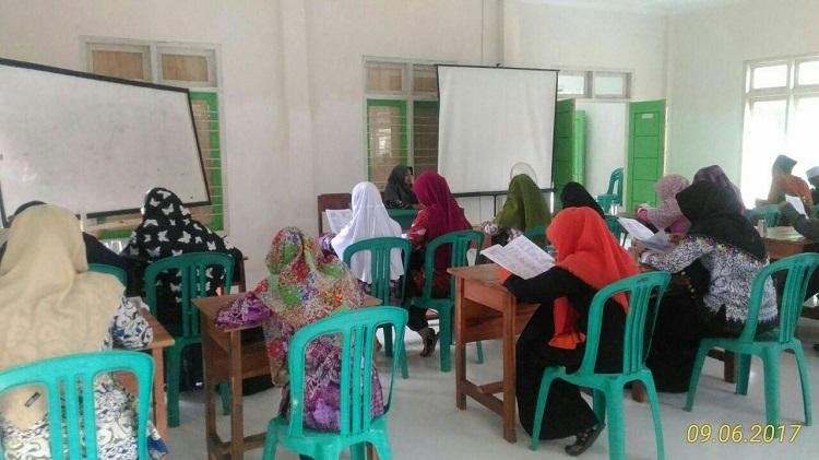 STIS Darusy Syafaah Melaksanakan Tes Masuk Calon Mahasiswa