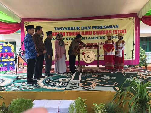 Peresmian STIS Darusy Syafa'ah Lampung Tengah di Hadiri Anggota Komisi IX DPR RI