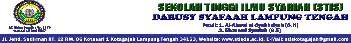 Situs Resmi STIS Darusy Syafaah