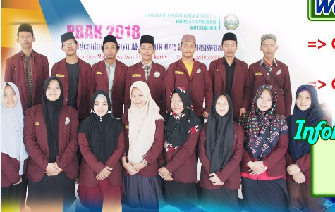 Penerimaan Mahasiswa Baru STIS Darusy Syafaah TA 2019/2020