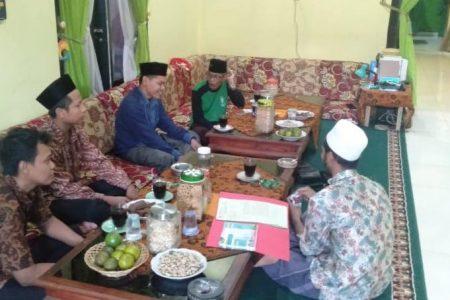 Ketua STISDA Lampung Tengah Silaturahim  ke Wakil Rais Syuriah PWNU Lampung