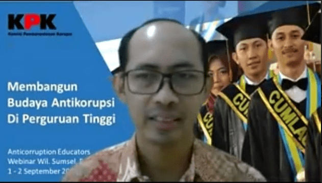 STISDA Lampung Tengah Ikuti Workshop Pendidikan Anti Korupsi KOPERTAIS XV Lampung