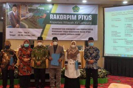 STIS Darusy Syafa'ah Lampung Tengah Ikuti Rakor KOPERTAIS XV Lampung