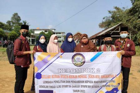 KKN-KS Mahasiswa STIS Darusy Syafa'ah di Desa Purwosari