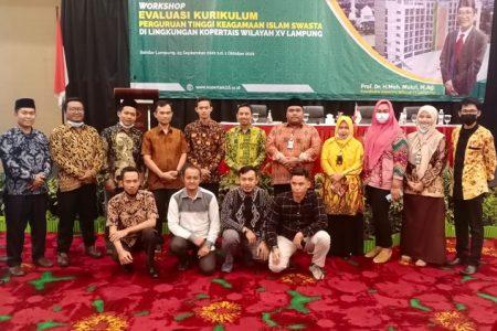 STIS Darusy Syafa'ah Lampung Tengah Ikuti Rakor Bimbingan Teknis Evaluasi Kurikulum KOPERTAIS Wilayah XV Provinsi Lampung